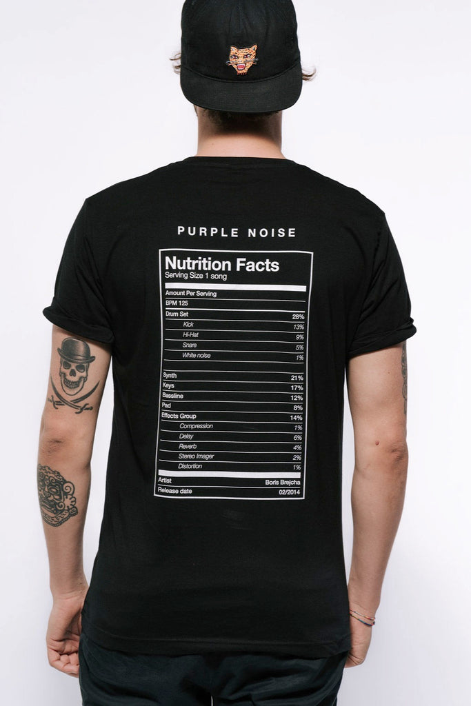 Boris Brejcha - Nutrition Facts T-Shirt Men