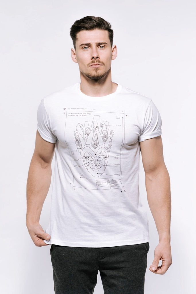 Boris Brejcha - Technical Mask T-Shirt Men