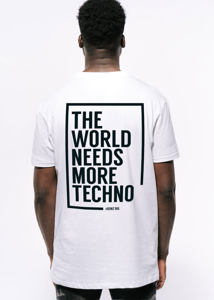 Deniz Bul - The World needs MORE Techno T-Shirt Men