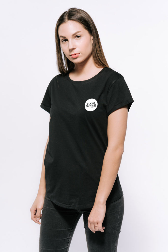 FCKNG SERIOUS - Logo T-Shirt Women