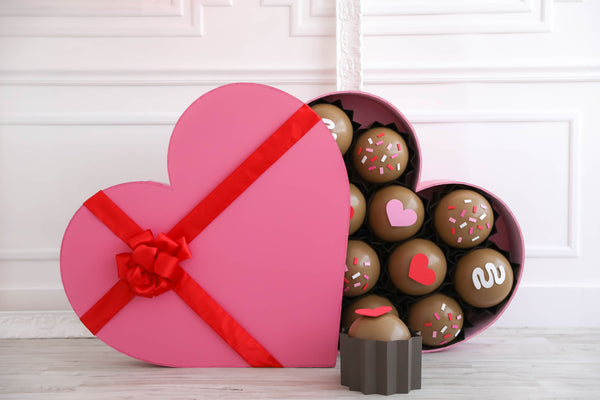 Valentine's Day Chocolate Heart Box