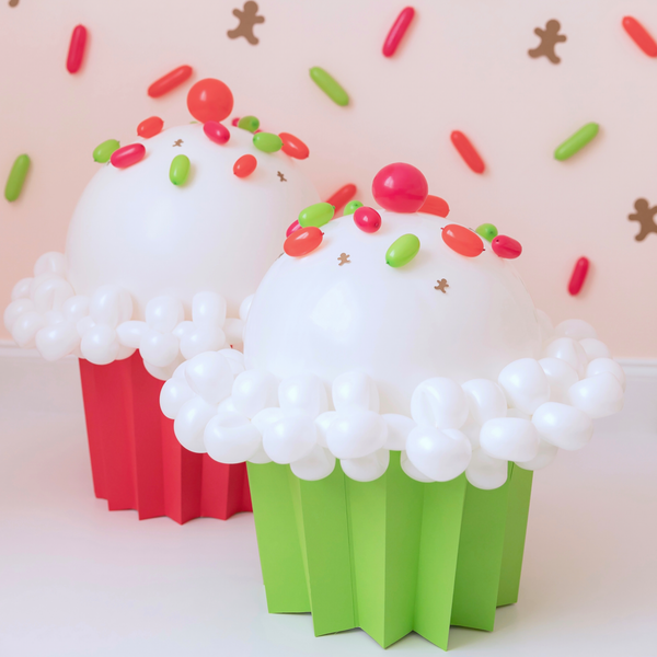 DIY Balloon Cupcake
