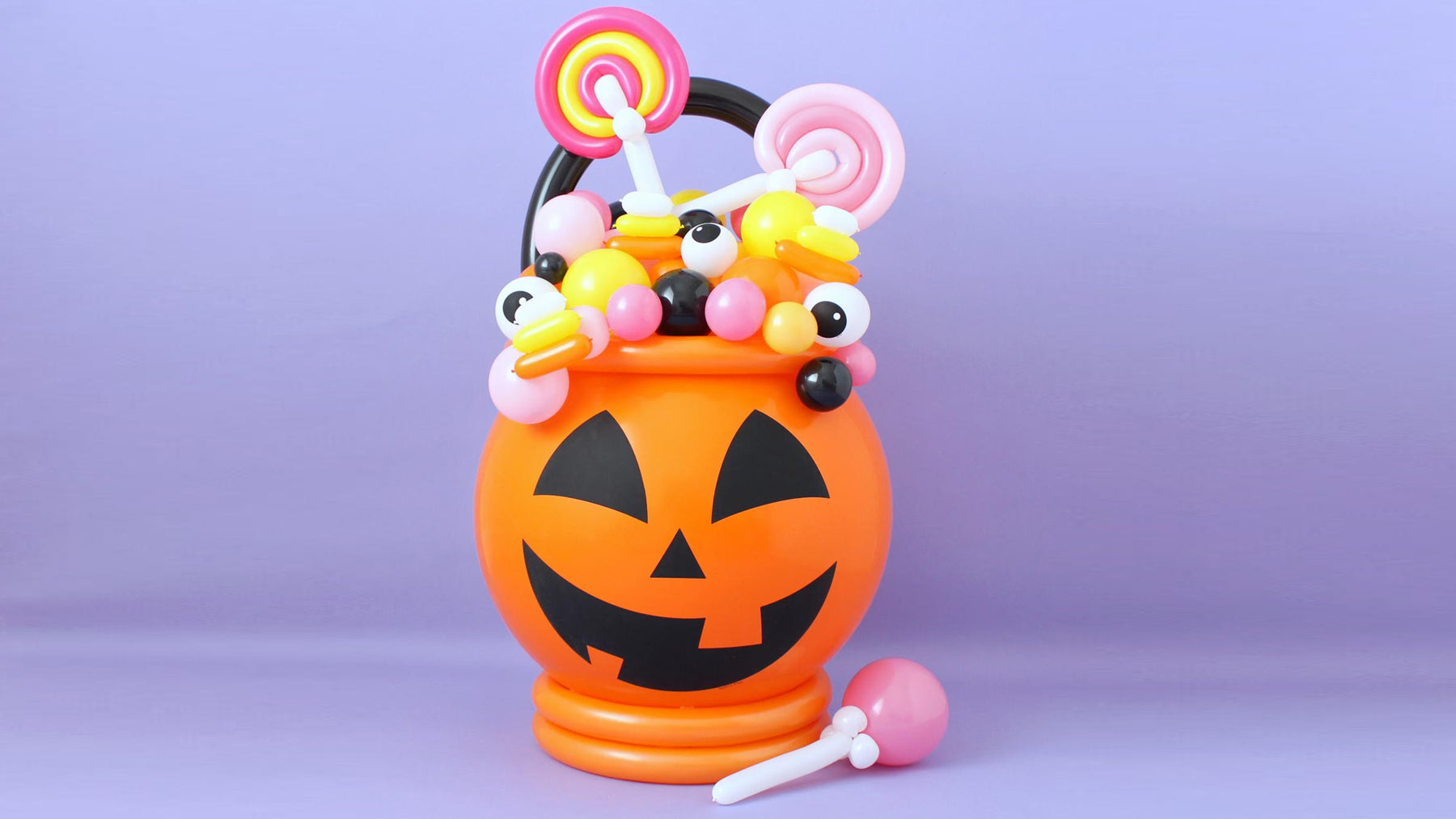 DIY Balloon Candy Cauldron