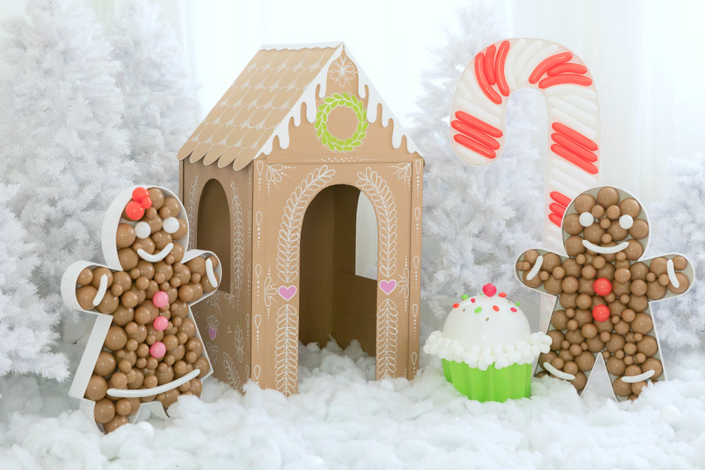 DIY Cardboard Gingerbread House