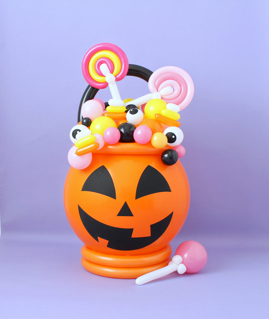 candy cauldron balloons