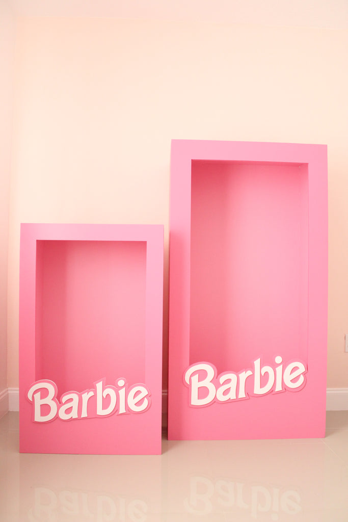 Small and Large Barbie Box DIY