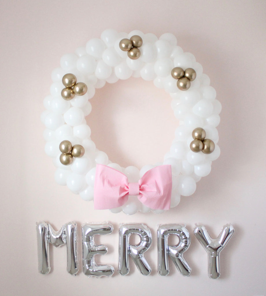 DIY Balloon Wreath Tutorial