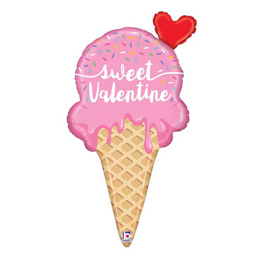 35 inch Sweet Valentine Ice Cream Foil Balloon