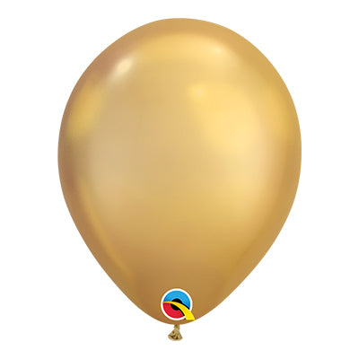 11 inch Latex Chrome Balloon - 12 Pack
