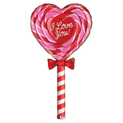 60 inch Special Delivery Love Lollipop Foil Balloon