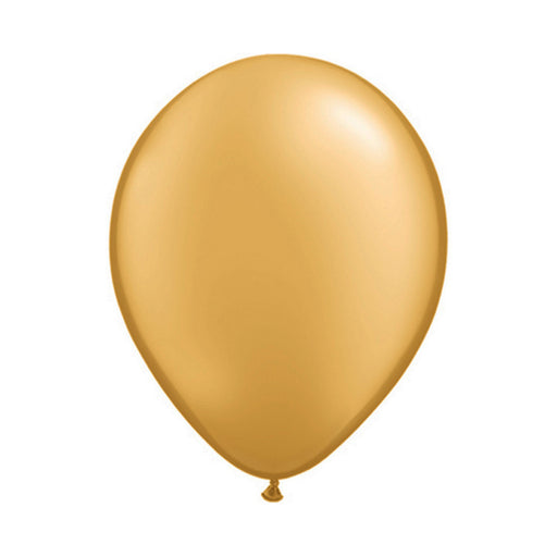 7 inch Chrome Gold Balloon