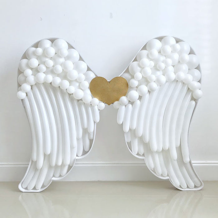 Angel Wings BALLOON MOSAIC digital design template