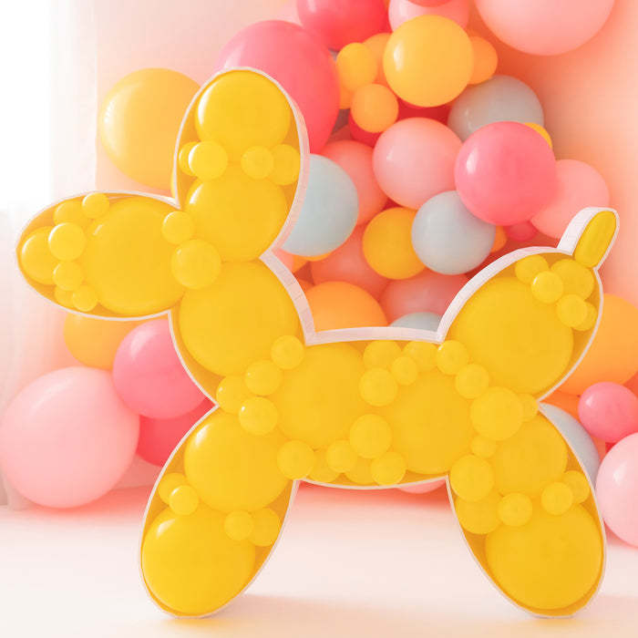 Balloon Dog BALLOON MOSAIC digital design template
