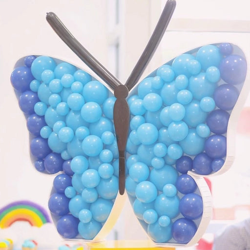 Butterfly BALLOON MOSAIC digital design template