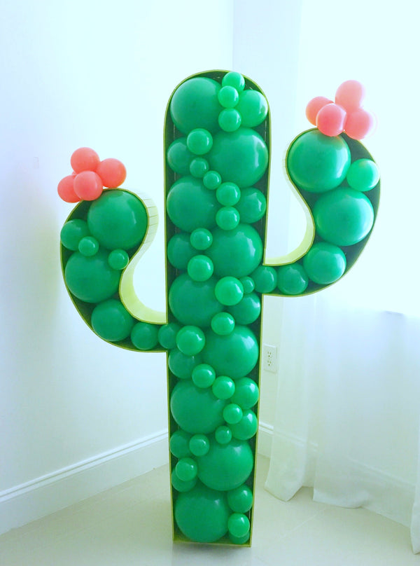 Cactus BALLOON MOSAIC™ digital design template