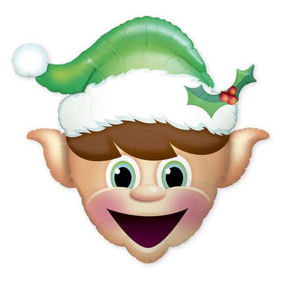 Christmas Elf Foil Balloon - Single Balloon