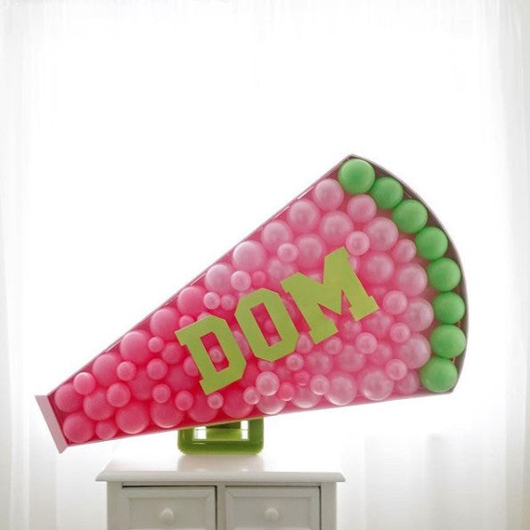 Megaphone BALLOON MOSAIC™ digital design template