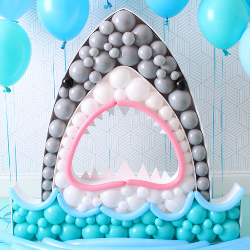 Shark BALLOON MOSAIC digital design template