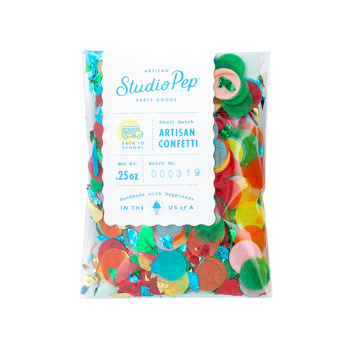 BACK TO SCHOOL CONFETTI - MINI PACK