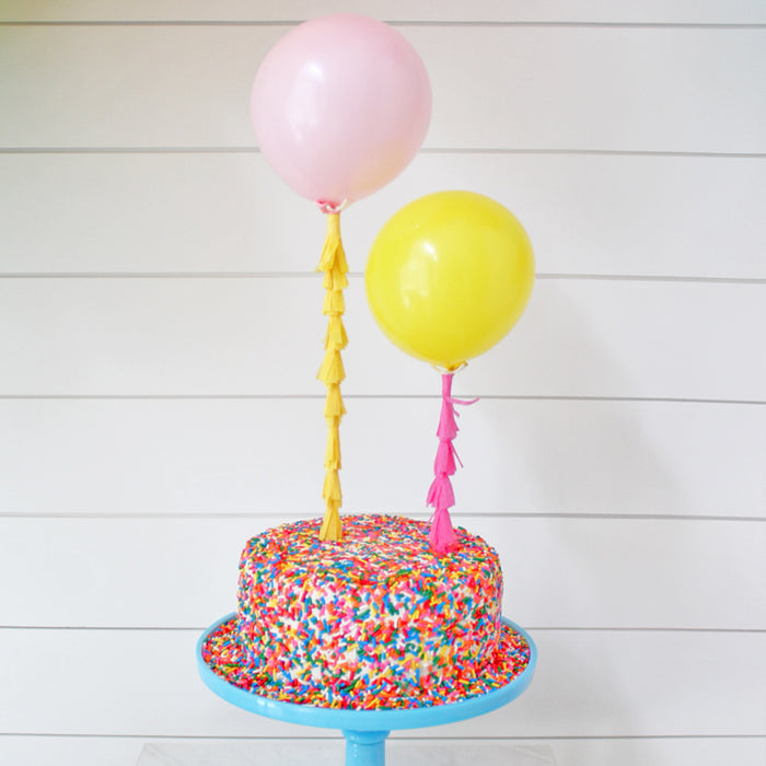 Balloon Tassel Cake Topper Kit