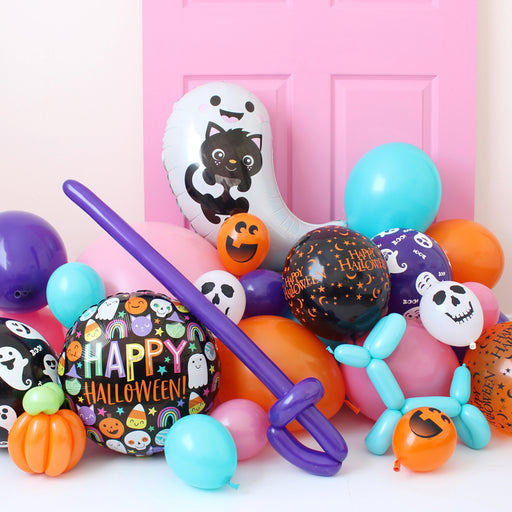 Happy Halloween Boo-lloon Bag DIY Kit