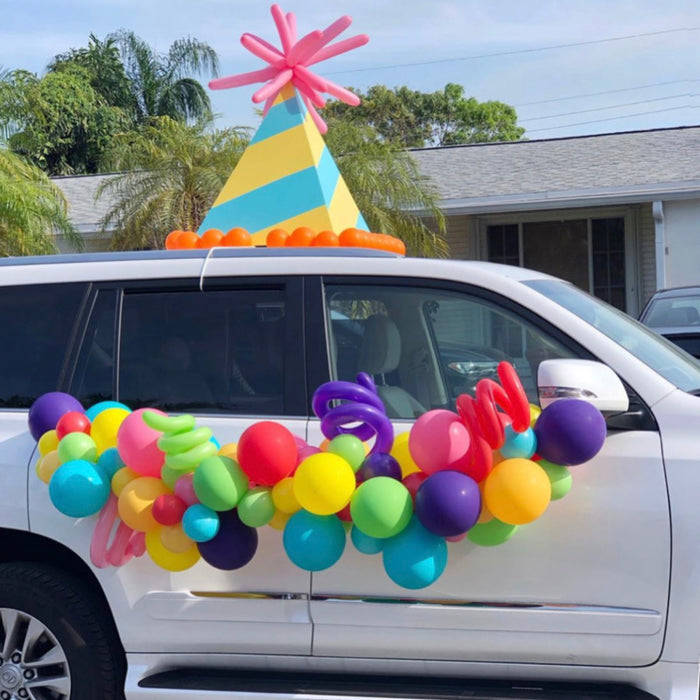 Oversized Party Hat Car Prop Digital Template