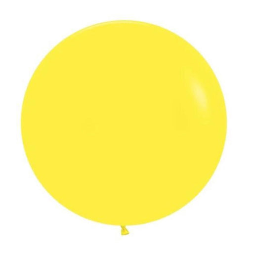 24 inch Yellow Balloon