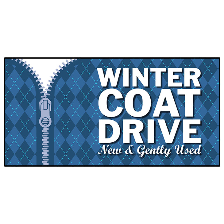 Winter Coat Drive Banner 36