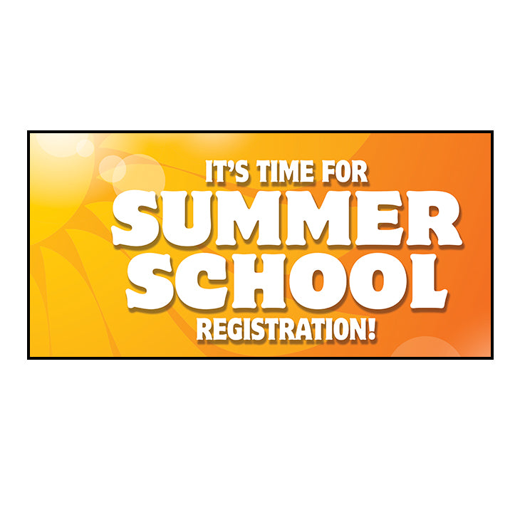 Summer School Registration Banner 36