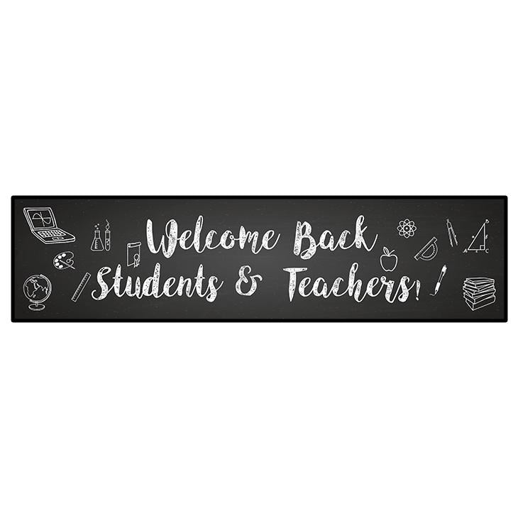 "Back To School Secondary Ed Banner 24""x96"""