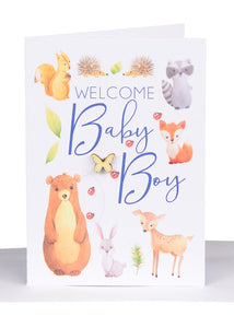 Baby Greeting Cards Boys - Large
