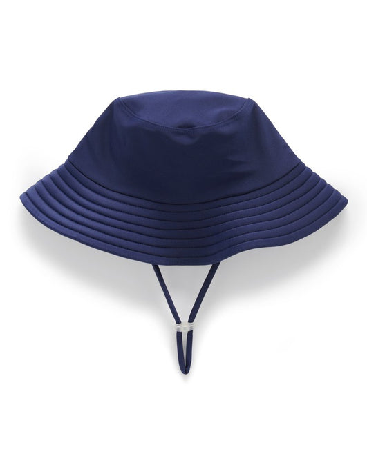 Broad Brim Swim Hat - French Navy