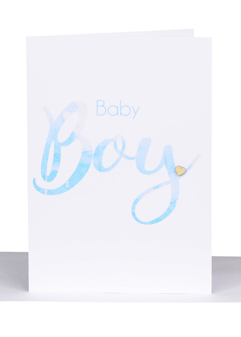 Baby Greeting Card For Boys - Small