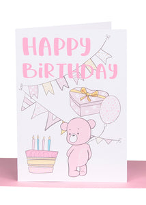 Birthday Greeting Cards - Large