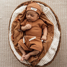 Load image into Gallery viewer, Marabelle Flutter Bodysuit - Chestnut