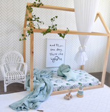 Load image into Gallery viewer, Fitted Cot Sheet - Enchanted