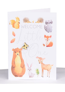 Baby Greeting Card Neutral - Small