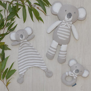 Kevin the Koala - Knitted Rattle