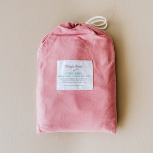 Rogue Pink Fitted Bassinet Sheet & Change Pad Cover