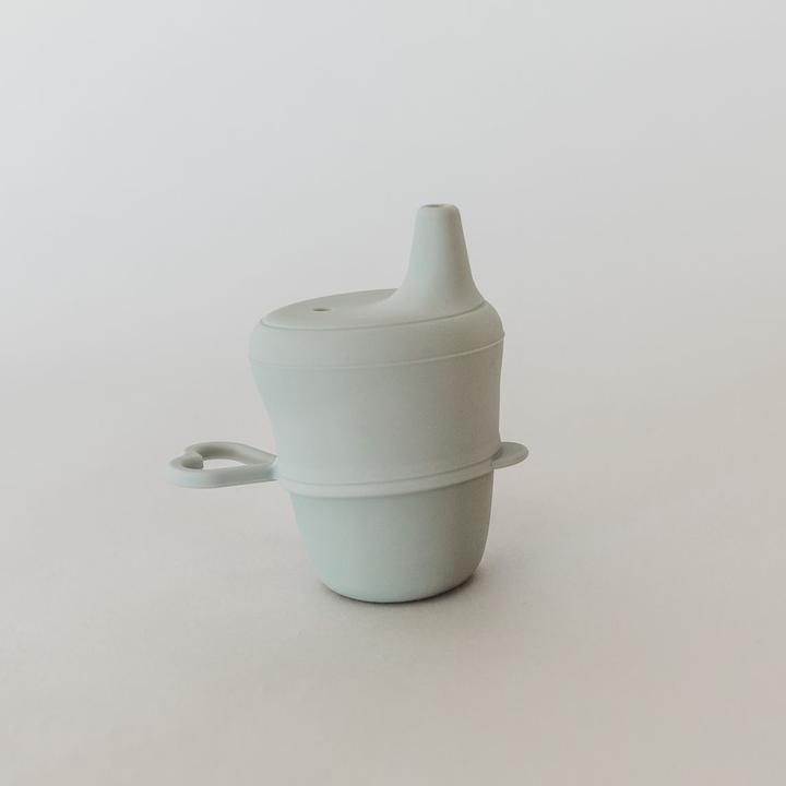 Silicone Sippy Cup with Lid - Storm