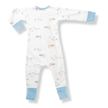 Load image into Gallery viewer, Water Baby Zip Romper