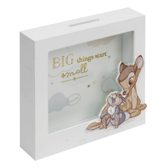 Bambi Money Box - 'Big Things Start Small'