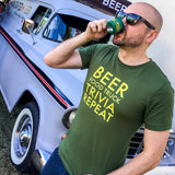 Beer Food Truck Trivia Repeat Short-Sleeve Unisex T-Shirt