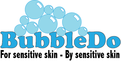 BubbleDo product made for sensitive skin and eczema by those with sensitive skin and eczema