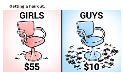 Do Women Really Get Charge More For Haircuts Then Men?