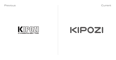 KIPOZI Does A Full Logo Makeover