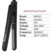 KIPOZI 038Mini Hair Straightener