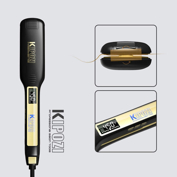 K-139 Black Hair Straightener