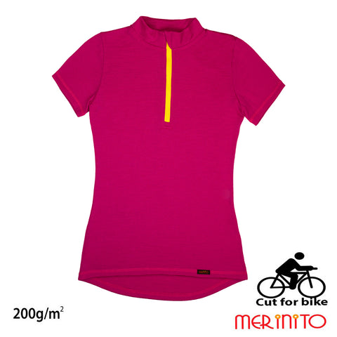 "Tricou dama ""Cut for bike"" 200 g"