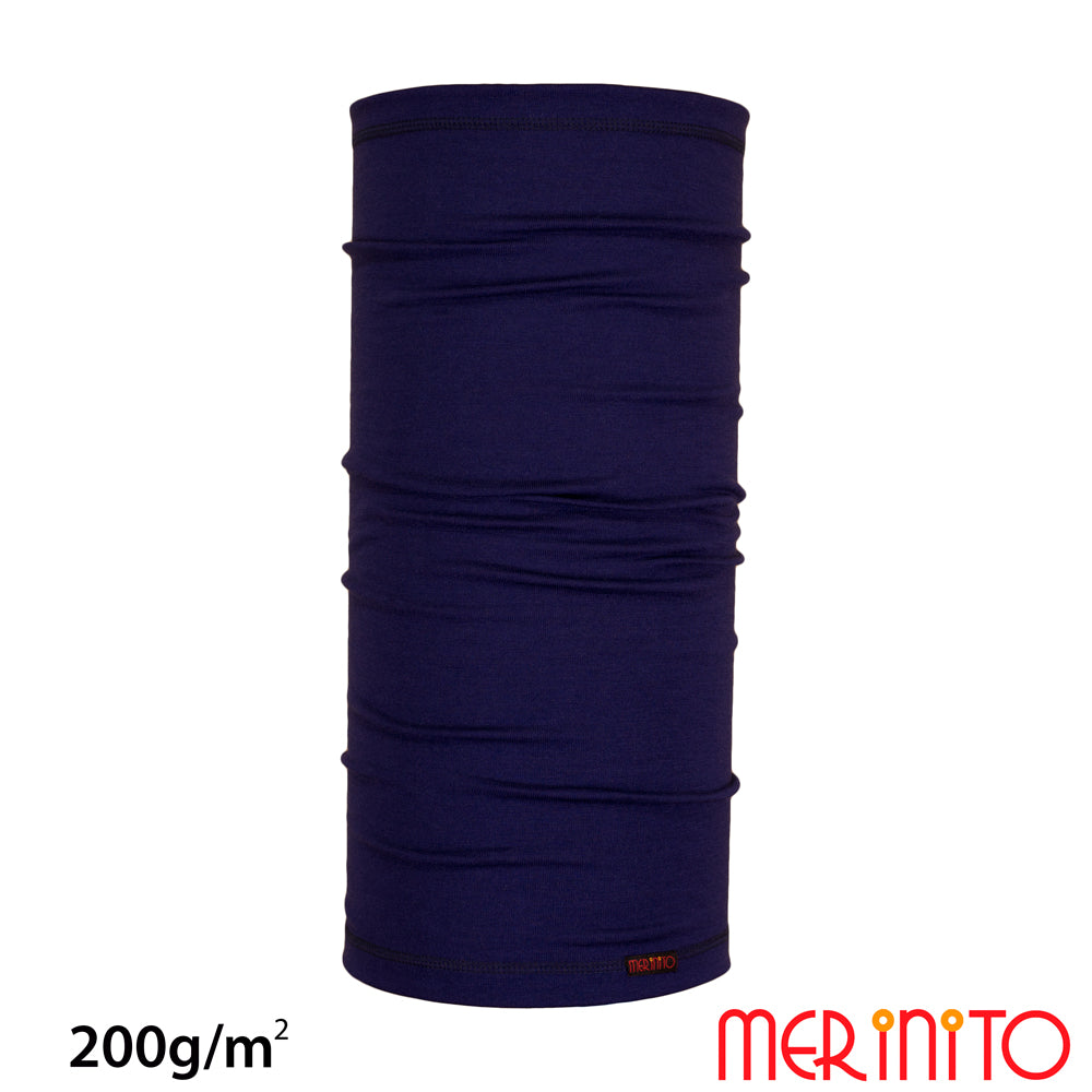 Neck tube merino 200g